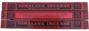 Aromatic Nepalese/Tibetan Himalaya Herbal Incense Joss Sticks - Pack of 3